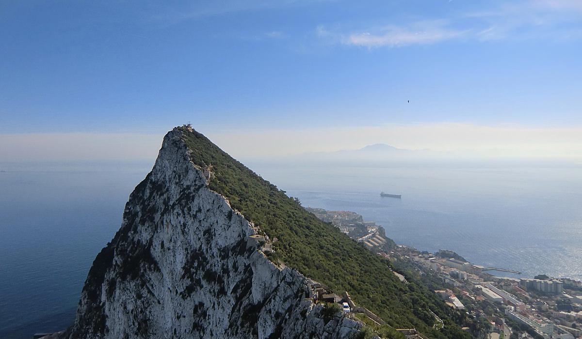 Straße Von Gibraltar Brücke