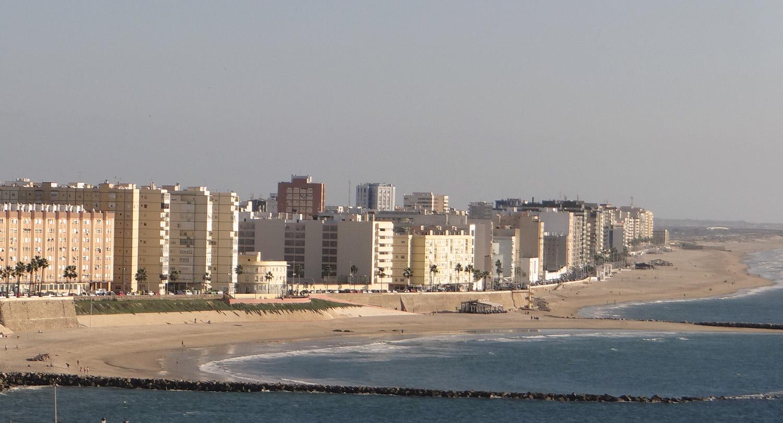 Strand Santa María del Mar Cádiz