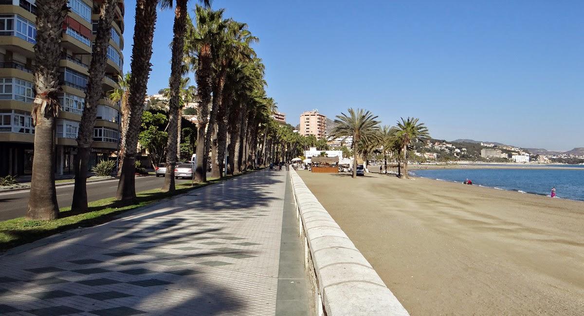 Strand La Caleta Málaga