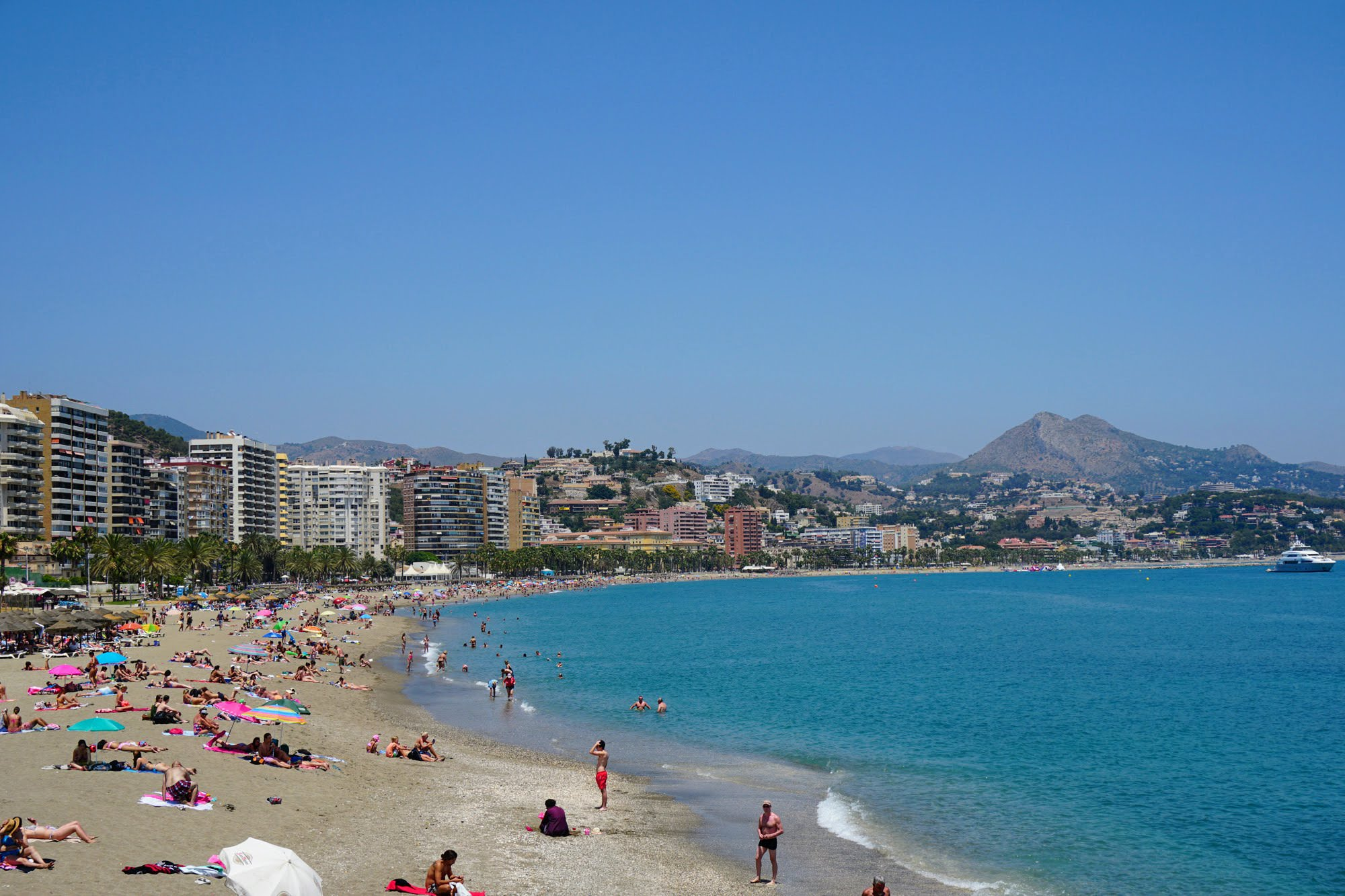 Strand La Malagueta