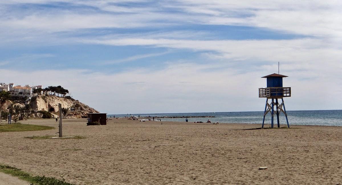 Strand Cala del Moral Rincon de la Victoria