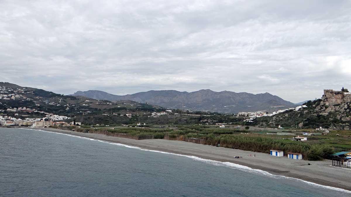Strand La Guardia Salobreña