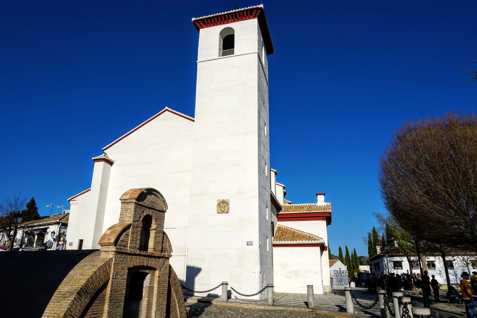 Kirche San Nicolás Granada