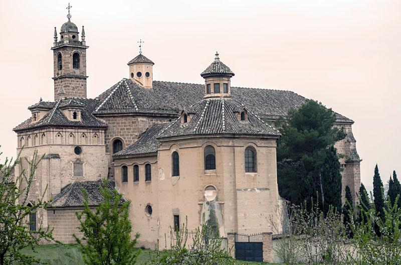 Kloster monasterio de la cartuja in granada andalusien 360 - Ceramica de la cartuja ...