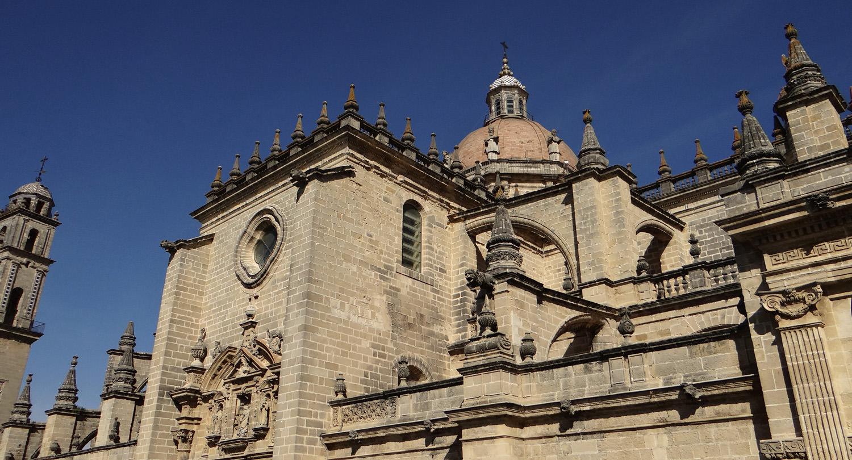 Kathedrale von jerez andalusien 360 for Azulejos jerez de la frontera