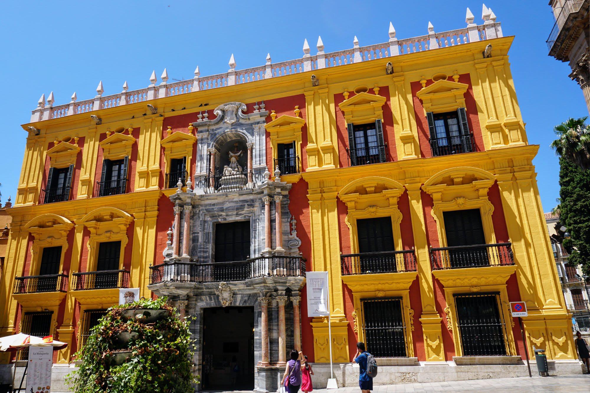 Bischofspalast Málaga