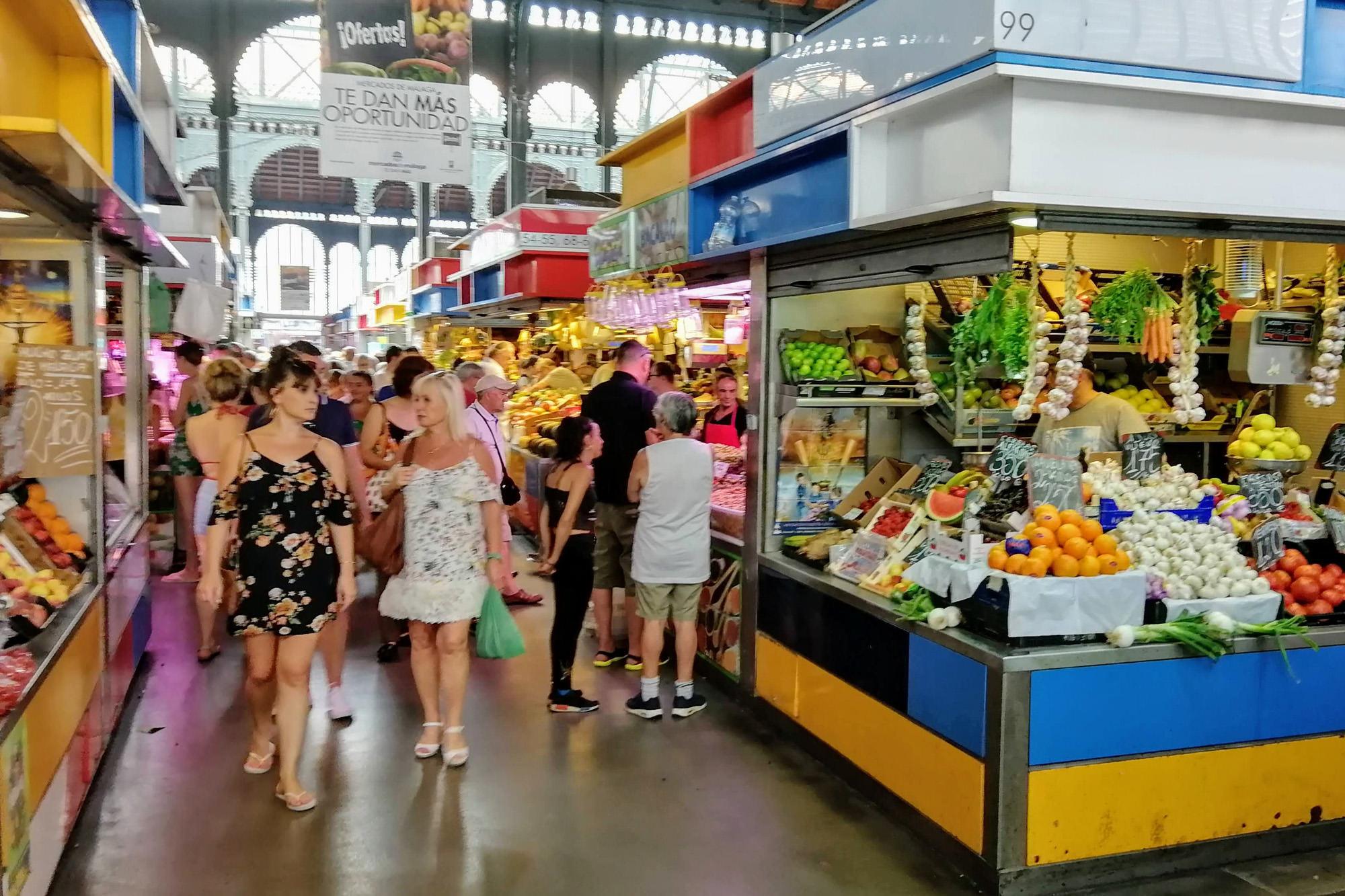 Atarazanas Markt Málaga