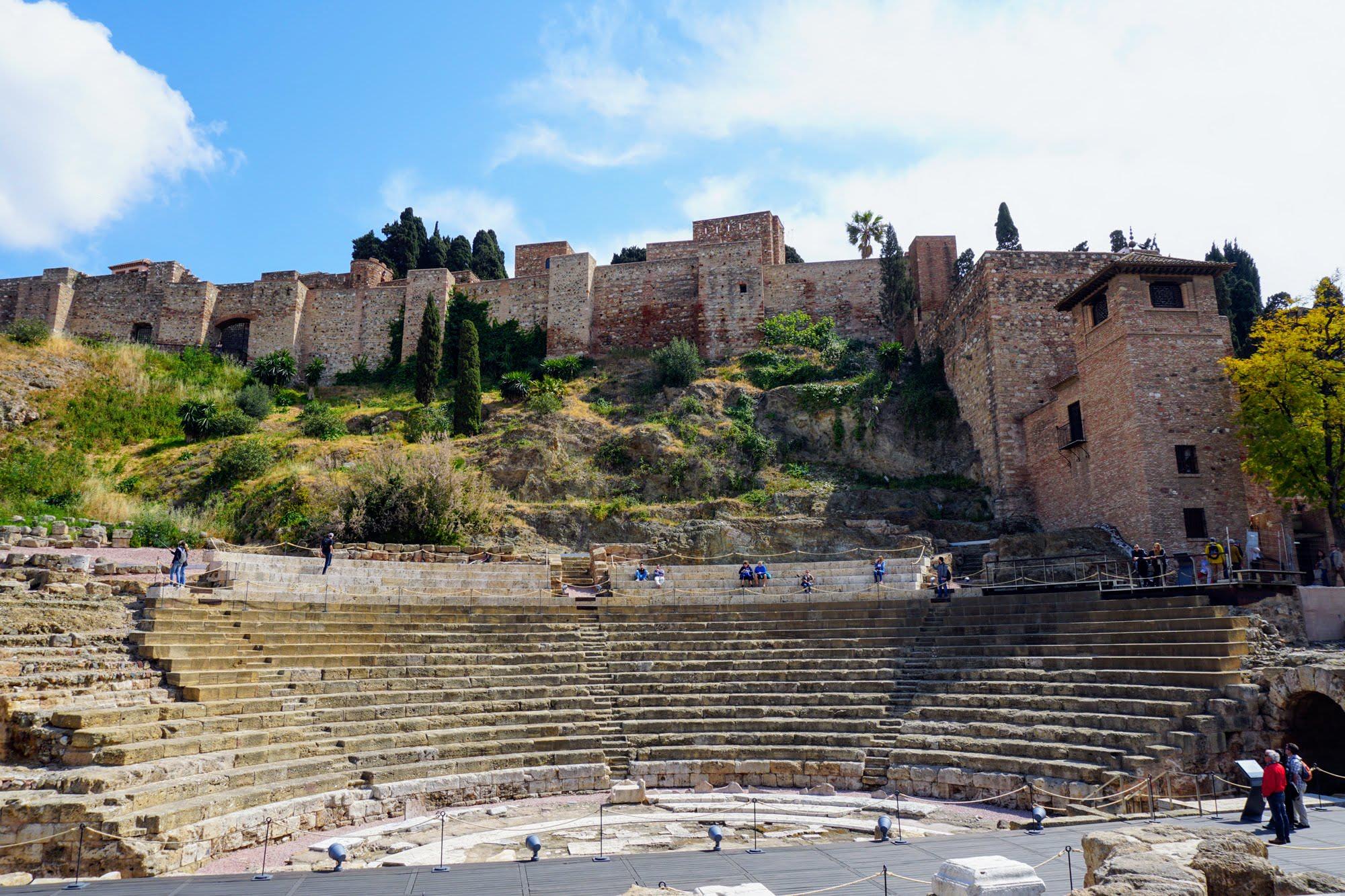 Römisches Theater Málaga