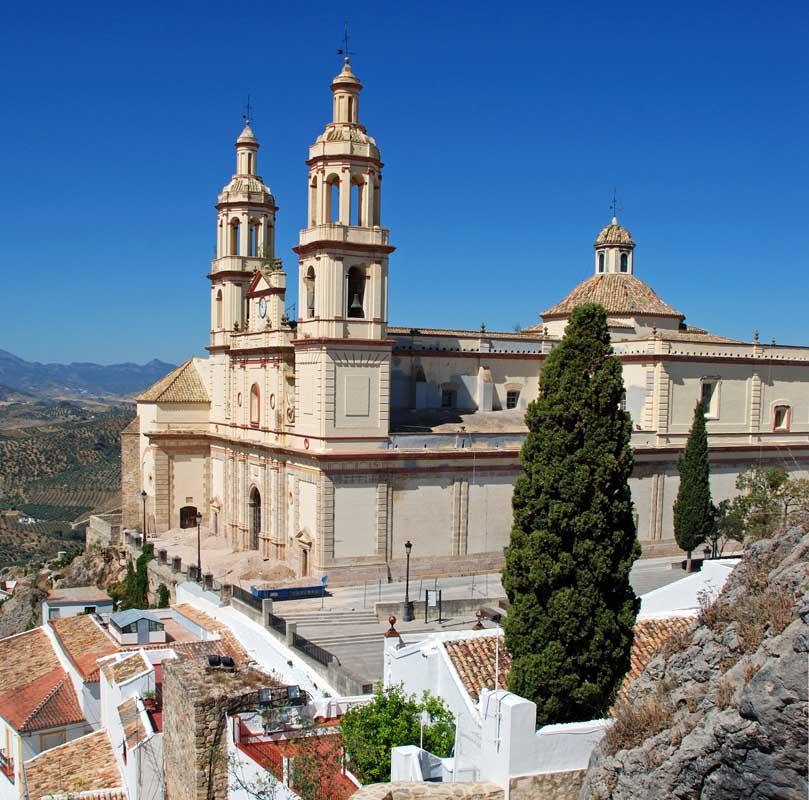 Kirche Olvera
