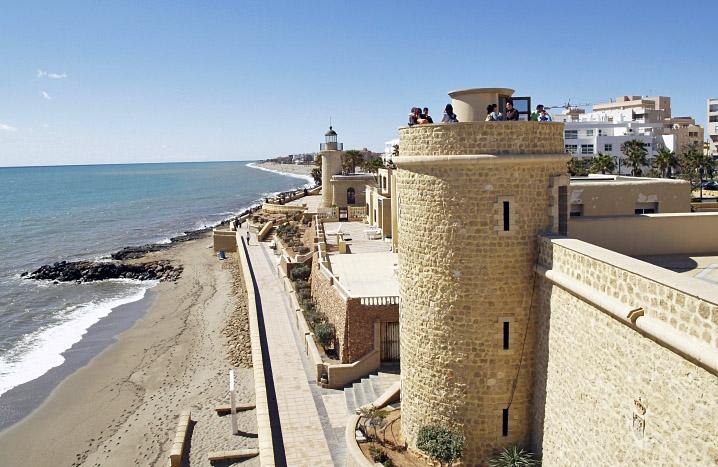 Burg Santa Ana Roquetas de Mar