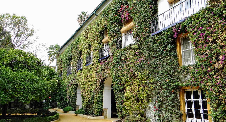 Palast Las Dueñas Sevilla