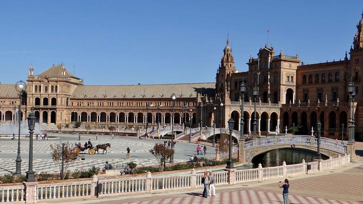 Plaza España Sevilla