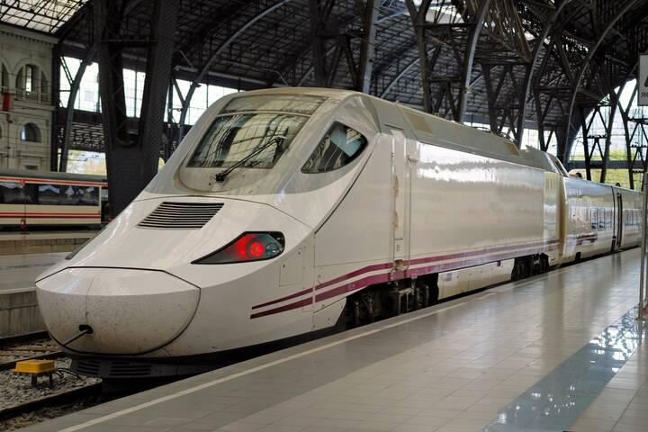 Zugfahren Spanien