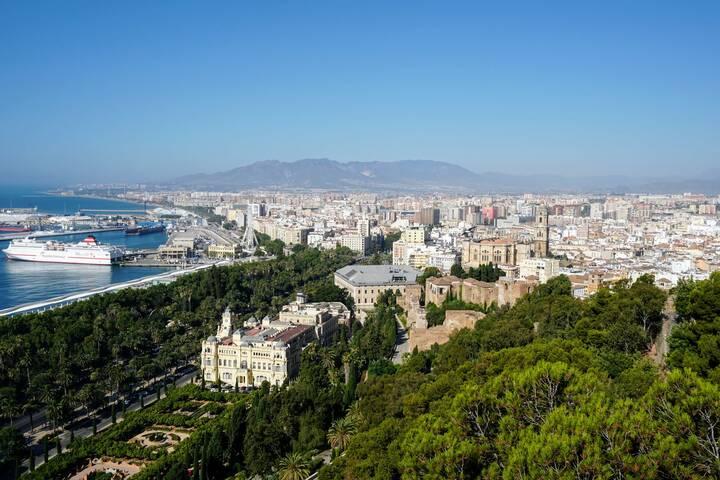 Malaga Altstadt Karte.Altstadt Von Malaga Andalusien 360