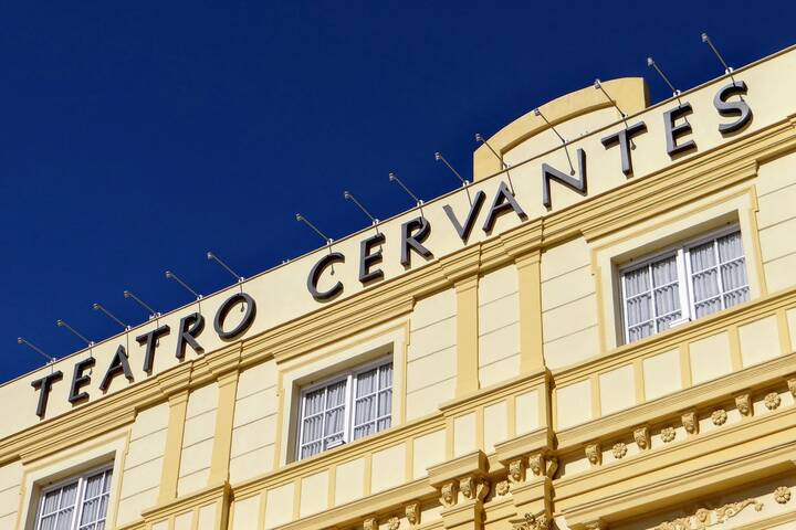 Malaga Altstadt Karte.Teatro Cervantes Theater In Malaga Andalusien 360