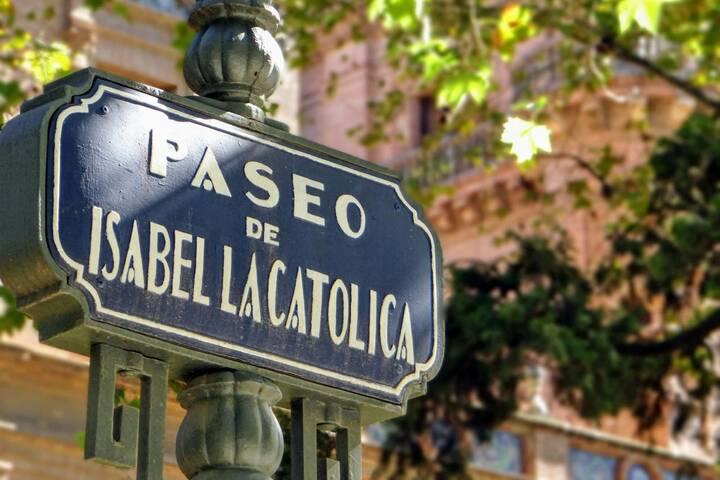 Straßennamen Spanien