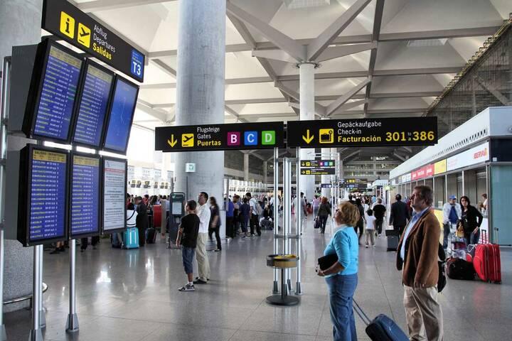 Flughafen Málaga