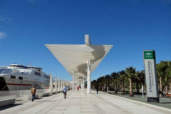 Hafen Málaga