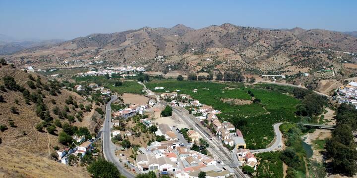 Álora Andalusien