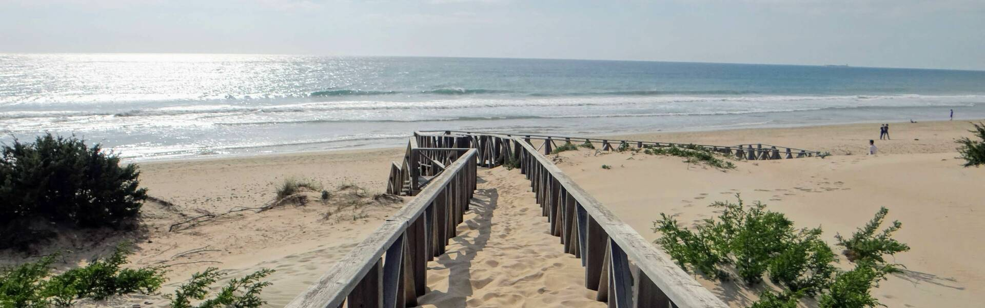 Strand Chiclana Andalusien