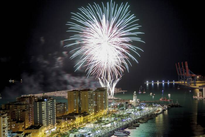 Silvester Andalusien