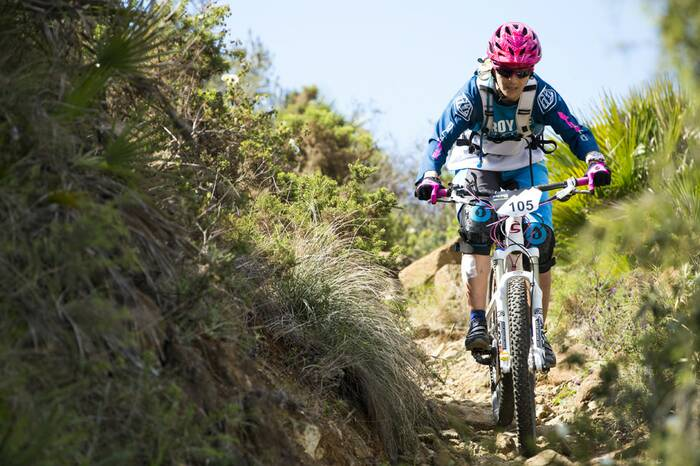 Mountainbike Andalusien